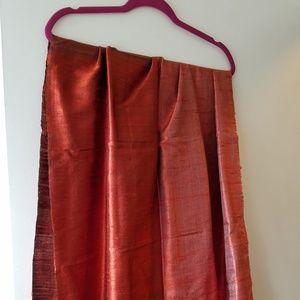 Silk shawl/wrap